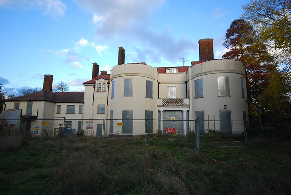 Kingsmoor House viewed from the rear