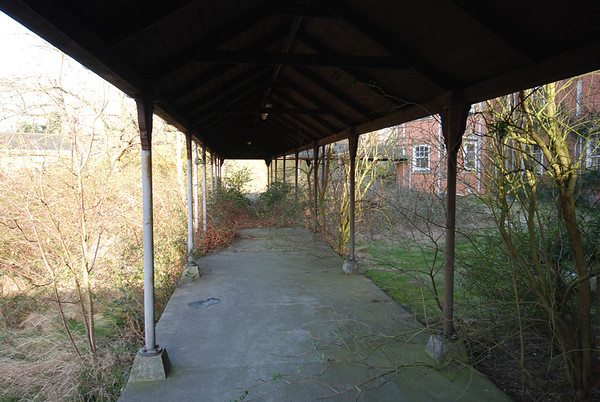 Part covered in walkway