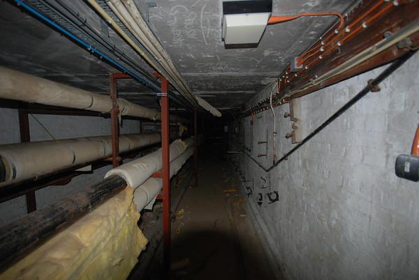 These tunnels are under Dene ward
