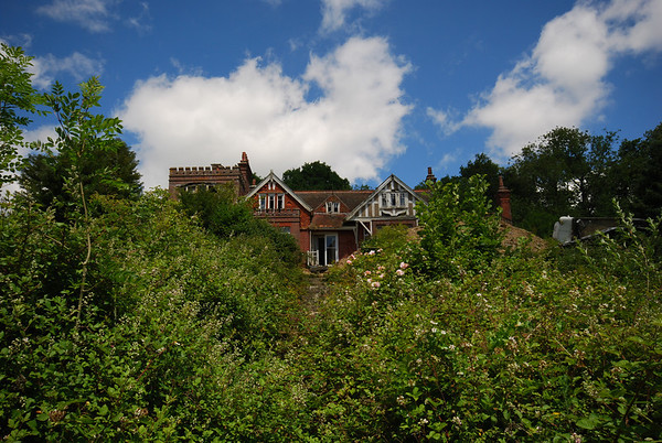 This is called Steep Park House,a twelve bedroom Victorian residence