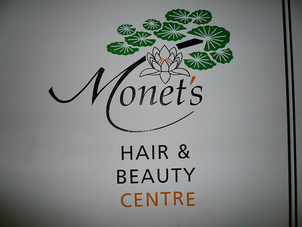 We start once again at Monet`s Hair n Beauty