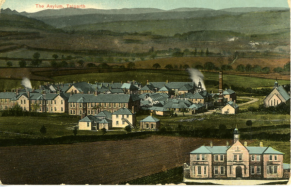 Talgarth post card