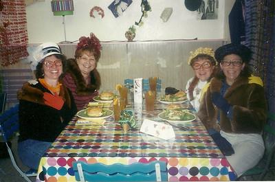 Lunch at Art Chicks. Sister weekend in Louisville, Nebraska
