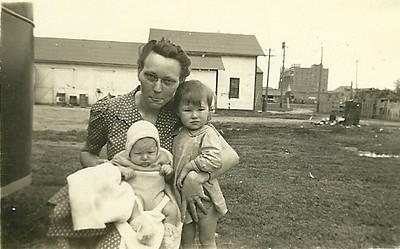 Agnes, Dave, and Mom