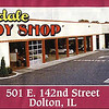 RIVERDALE BODY SHOP - DOLTON, IL  c. 1980-90's<br /> Previously was a National Food Store