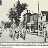 1950's JULY 4th - DOLTON, IL - People on right sitting on porch are at 14131 Chicago Road.