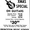 PRINCETON MUSIC SCHOOL--across from the Dolton theatre.  This ad from a 1961 Pointer newspaper.