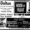 1961 DOLTON (IL) THEATRE AD FROM THE POINTER NEWSPAPER.