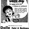 DALLE HARDWARE - DOLTON, IL - 1961 Pointer news ad<br /> Known as True Value Hardware in later years