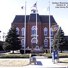 DOLTON, IL MUNICIPAL CENTER - 14014 PARK AVE - 2002<br /> Built in 1874 this was originally Park Elementary School, but the noise from steam locomotives from the tracks (to the right in picture) forced the school to move.  Also housed the Dolton Library on the second floor around the 1950's era.