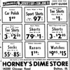 HORNEY'S AD 1961 Riverdale Pointer<br /> Horney's opened in 1953 and was built by Henry J. Horner, a Dolton resident.