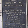 ROOSEVELT ELEMENTARY - DOLTON, IL <br /> 1949 addition plaque  (via Lenny Brezek)