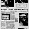 BERGER SCHOOL HISTORY BY MARLENE COOK - 1970