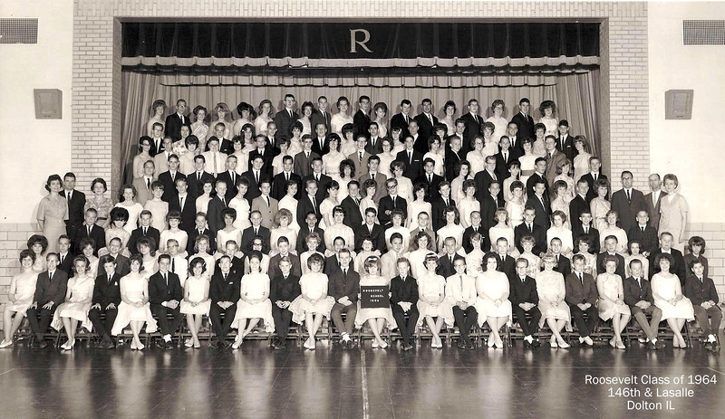 ROOSEVELT ELEMENTARY DOLTON, IL -CLASS OF 1964<br /> (would be 1968 high school graduates)