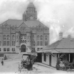 1885-1890, Bilderain Adobe and Courthouse