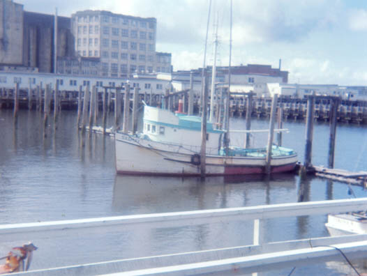 Sashay  Built 1962 Seattle  W A Mcphee  Bell Buoy Crab Co  Sigurdson  Keith Dyer  Joe Canutt  Chris Hoeflinger  Hoang  Lam  Dao  Pic Taken Astoria