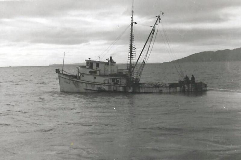 Kiska,1940's Astoria,Loaded and Deck Load,CRPA,