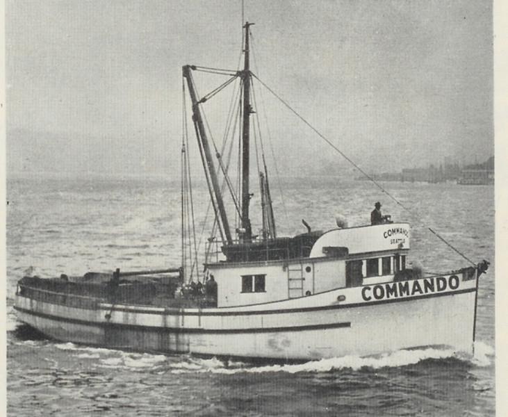 Commando_Built 1944 Seth_Green_Seattle,Einar Telnes,U of WASH,