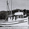 Karen  Built 1945  Coos Bay Boat  Shop  Builder Abe Elfving  Jonke Elfving  Later Vernon  Graham  Graham Brothers   Later   Buzz   William  Goergen