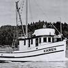Karen  Built 1945  Coos Bay  Boat Co Builder Abe Elfving For Vernon Graham  Later William Goergen