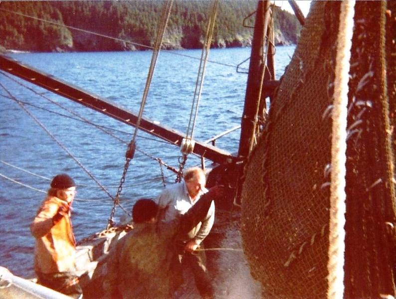 John Farris,Frank Parker, Jim Kerwin, on Tom & Al,Schrimping Kodiak Island,