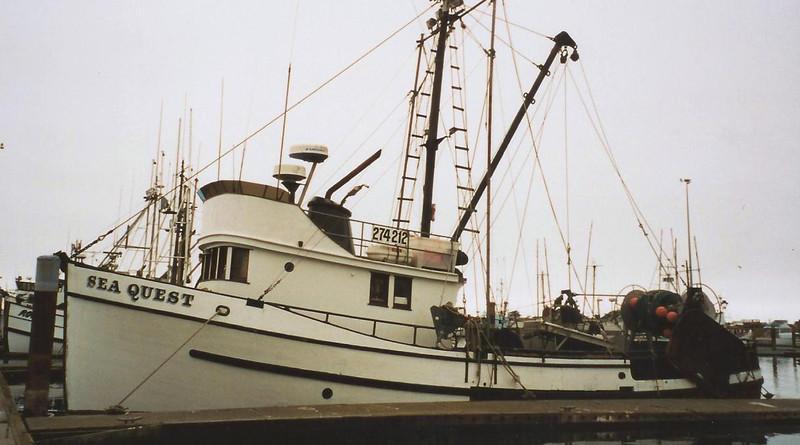 Sea Quest,Bulit 1957 Seattle,Matthew Svorinich,Desmond Williams,Douglas Cairns,
