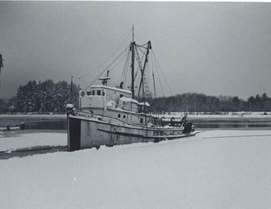 Margaret E   Ed  Goodrich   Pic Taken 1970 AMCCO Shipyard  Astoria