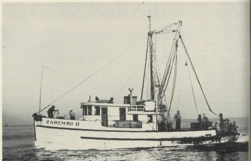 Zarembo_II,Built 1939 Olson and Sunde Seattle,Miner_Lervold,Benny Chestnut,Gary Warren,William Charlton,Pic Taken 1944