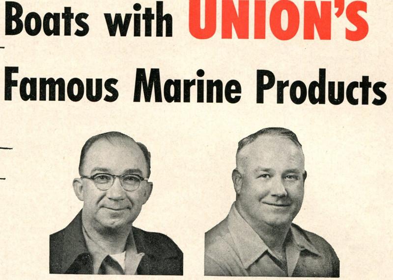 Ugo Seeborg,M R Red Payne,Union Oil Dock Astoria,1952,