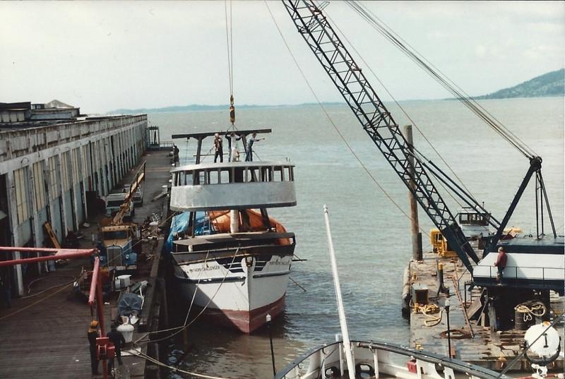 Northern Challenger,Lady Ava,Built 1974 Bayou La Batre Alabama,Leslie Casterline Jr,Kent Helligso,Jack Crowe,