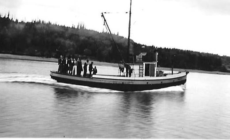 Sadie K  Built 1914 Seattle  Louis Knutson  Monroe Bros  Arne Grotting