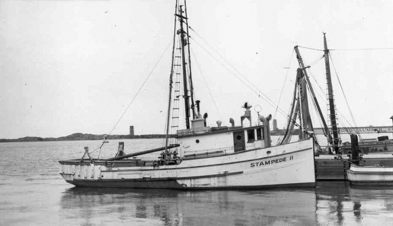 Stampede II ,Built 1941 Tacoma,Tuna,50's,Eureka,Shipshape Wuori,Charles