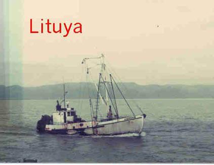 Lituya  Olympic  Built 1911 Seattle  Hjalmar  Jensen  Angell  Kaare  Pic Taken Astoria