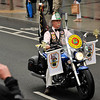 Dublin Fire Brigade celebrated 150 years with an impressive parade from Parnell Streeet through Dublin City Centre finishing at Dublin Castle Saturday 02 June 2012. This image shows a super bike from Palm Beach County Fire Rescue. Photograph: ©Margaret Brown