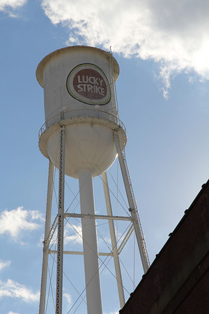 Lucky Strike Tower at the American Tobacco Warehouse