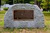 <center>Myles Standish Cemetery Marker <br><br>Duxbury, MA</center>