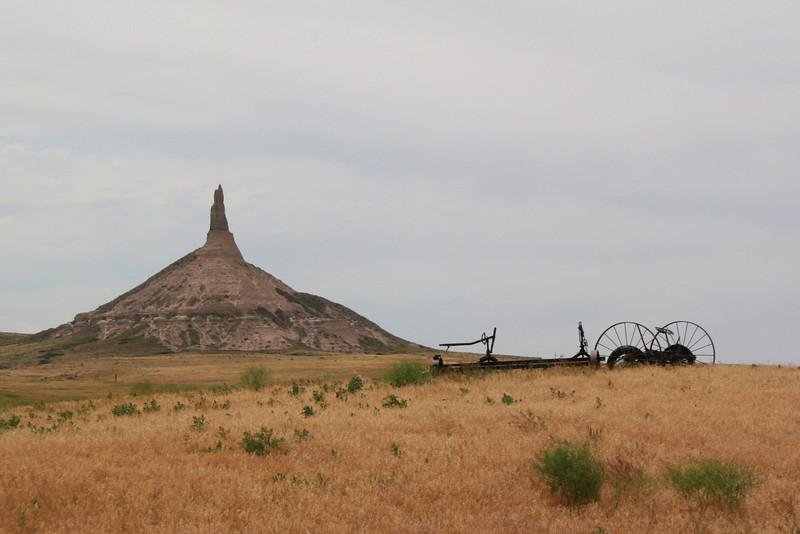 Chimney Rock, Pony Express Museum, Lewis & Clark Memorial - NE & IA (7-6-08)