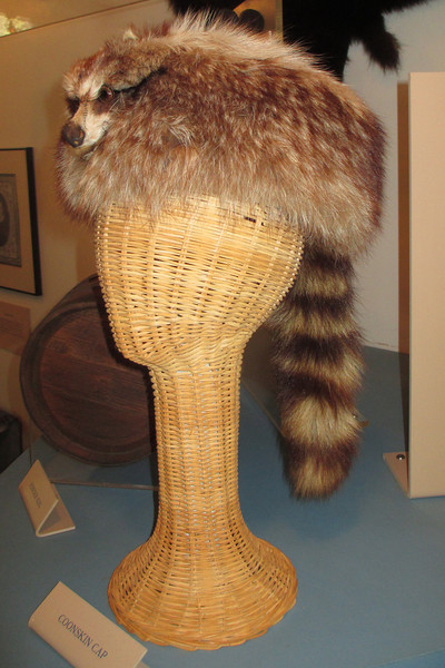 No museum dedicated to Davy Crockett would be complete without one of his trademark coonskin caps...