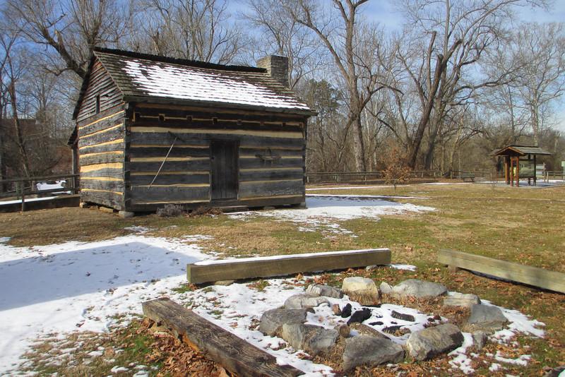 David Crockett Birthplace State Park, TN (1-31-14)
