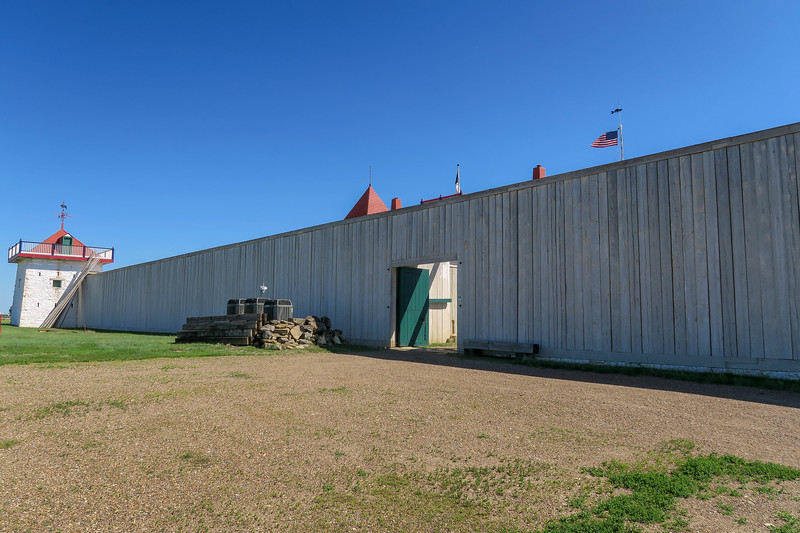 Fort Union Trading Post - North Wall