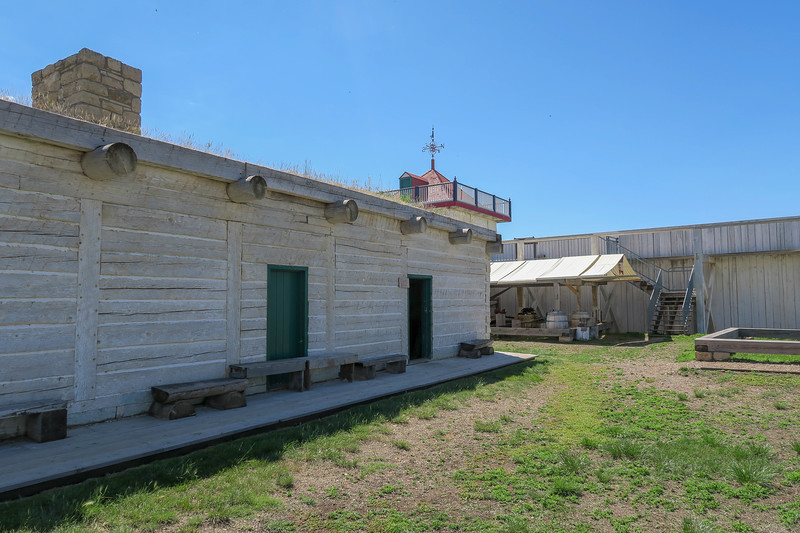 Indian Trade House - West Side - Clerk's Office