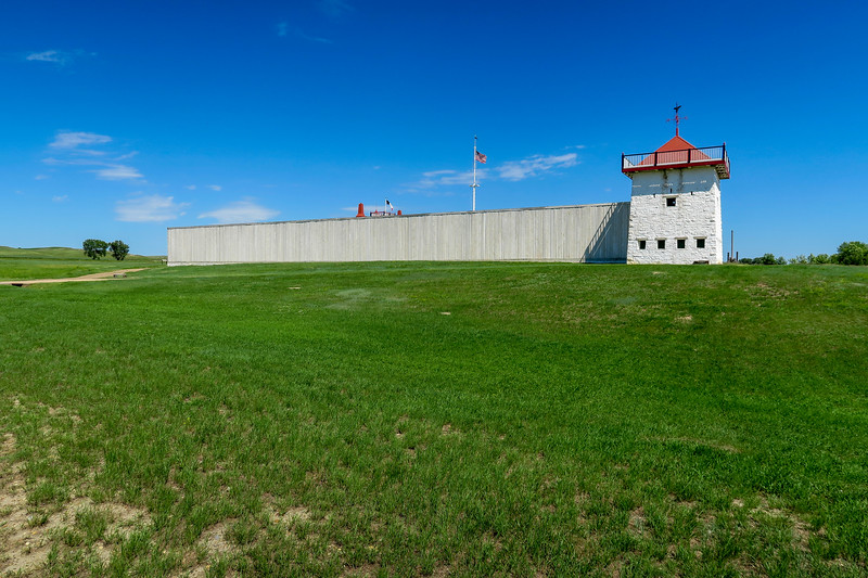 Fort Union Trading Post - West Wall