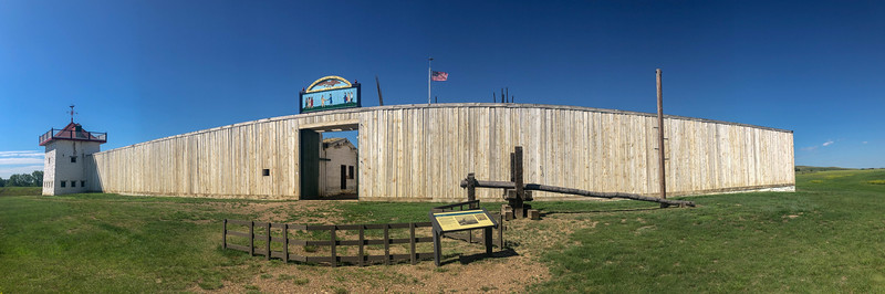 Fort Union Trading Post - South Wall