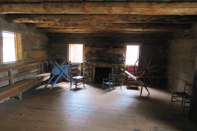 Hagood Cabin - Interior