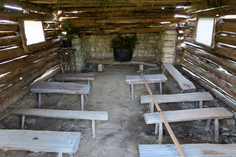 First Schoolhouse (interior)
