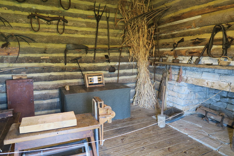 William Pogue Cabin (interior)