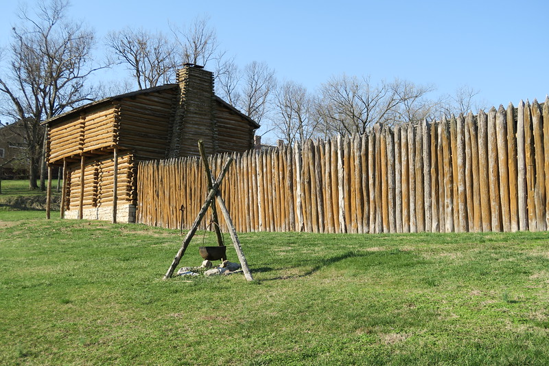 Fort Harrod -- East Wall