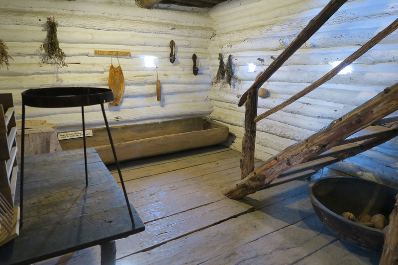 George Rogers Clark Blockhouse (lower floor)