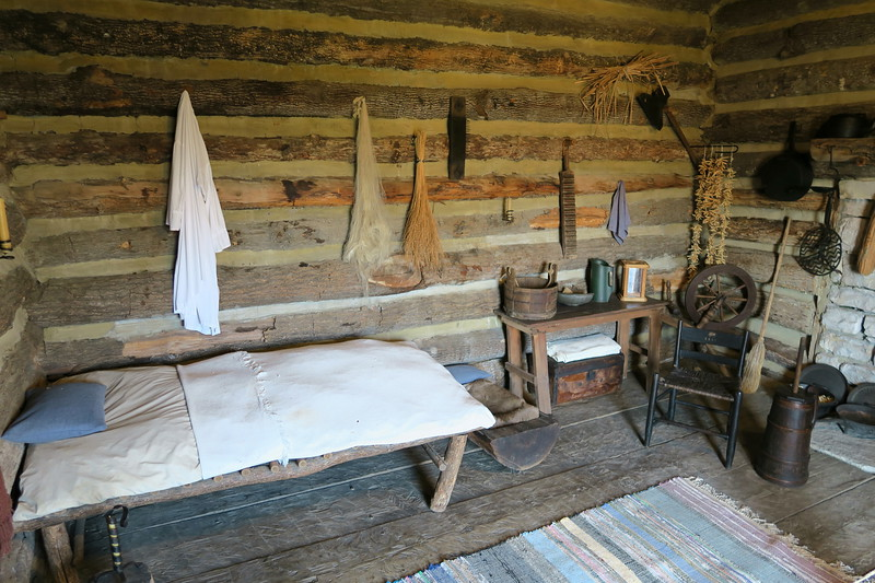 Earliest Settlers Cabin (interior)