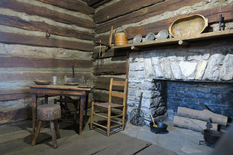Lincoln Marriage Cabin (ca. 1782)